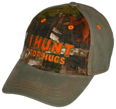Bass Pro Shops I Hunt for Hugs Cap for Babies or Toddlers - TrueTimber Kanati/Olive - OSFM - Toddlers