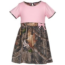 Bass Pro Shops Bow Front Dress for Babies or Toddlers Image