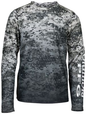 Columbia Super Terminal Tackle Digi Camo Fade Shirt for Kids – Tarpon Digi Camo Fade – L