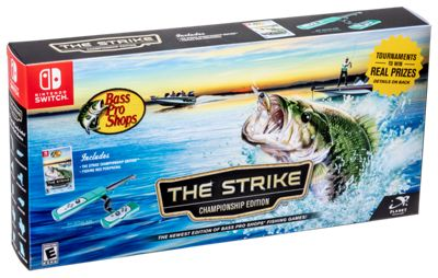 Bass Pro Shops The Strike Championship Edition Fishing Game Bundle for Nintendo Switch