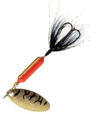 Worden's Original Rooster Tail – 1/6 oz. – Gold Flame Tiger