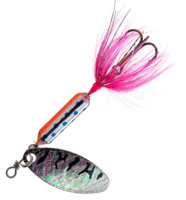 Worden's Original Rooster Tail – 1/6 oz. – Pink Trout Tiger