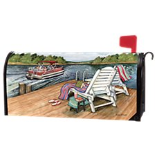 Magnet Works MailWraps Lake Weekend Magnetic Mailbox Cover