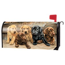 Magnet Works MailWraps Bundles of Cuteness Magnetic Mailbox Cover