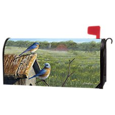 Magnet Works MailWraps Summer Bluebird Magnetic Mailbox Cover