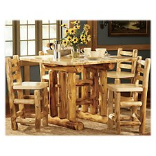 Mountain Woods Furniture Grizzly Bistro Table