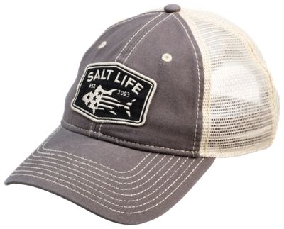3b7dea603d7 Salt Life Red White and Bluefin Cap