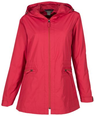0f6702a5b2f Natural Reflections Essential Parka for Ladies Garnet Rose 2XL