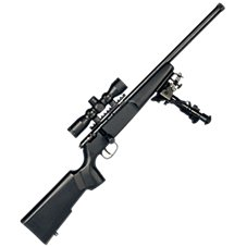 Savage Rascal Target XP Youth Single Shot Bolt-Action Rimfire Rifle Package