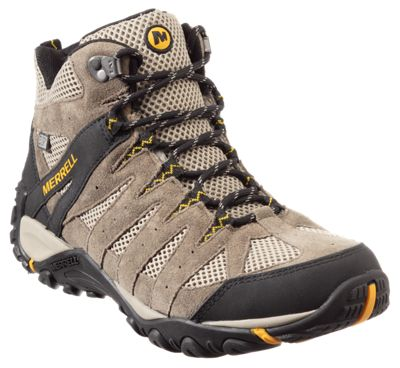 lace up in official supplier attractive price Merrell Accentor 2 Mid Vent Waterproof Hiking Boots for Men ...