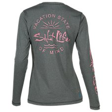 Salt Life State of Mind Long-Sleeve SLX Shirt for Ladies