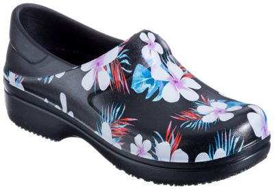 4c1556afe735b Crocs Neria Pro II Graphic Clogs for Ladies Tropical FloralBlack 10M