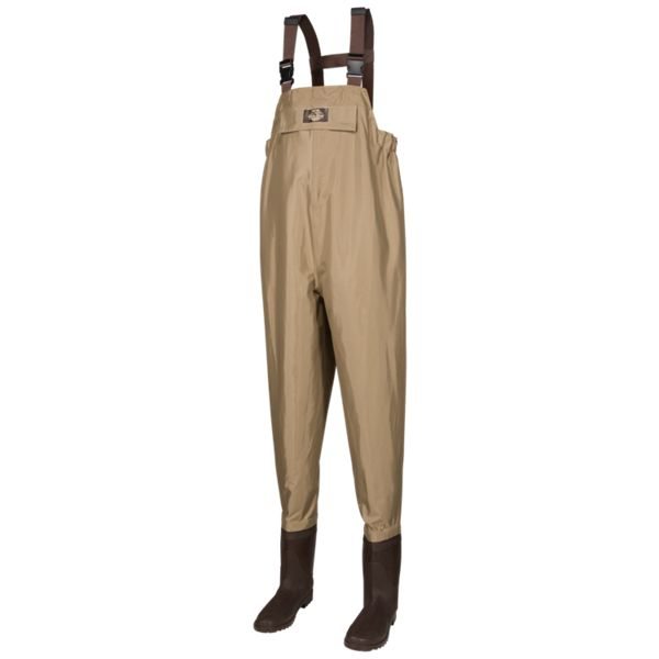 White River Fly Shop Three Fork Insulated Lug Sole Chest Waders for Ladies -Tan - 7 Regular
