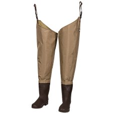 White River Fly Shop Three Fork Insulated Lug Sole Hip Waders for Men
