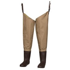 White River Fly Shop Three Fork Felt Sole Hip Waders for Men