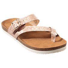 0557e069f3e846 Natural Reflections Rachel Buckle Sandals for Ladies