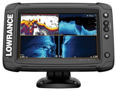 Lowrance Elite-7 Ti2 Fishfinder/Chartplotter with US/Canada Navionics+ and  Active Imaging 3-in-1