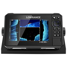 Lowrance HDS LIVE 7 Fishfinder/Chartplotter with Active Imaging 3-in-1