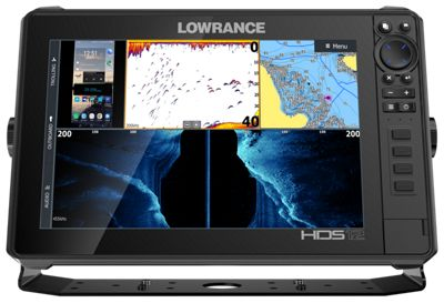 Lowrance LIVE 12 Fishfinder/Chartplotter with Active Imaging 3-in-1