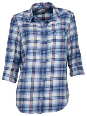 Image of Ascend Campfire Flannel Shirt for Ladies
