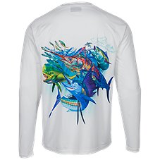 World Wide Sportsman Saltwater Offshore Slam Long-Sleeve T-Shirt for Men