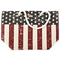 Cappelli Straworld Toyo Flag Purse