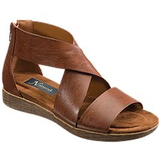 Natural Reflections Sinsee Wedge Sandals for Ladies Image