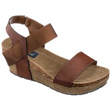 Natural Reflections Sanra Wedge Sandals for Ladies Image