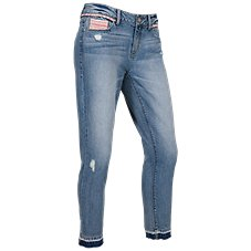 Natural Reflections Riverside Ankle Jeans for Ladies