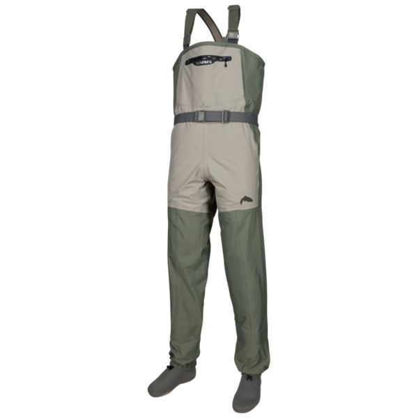 Simms Freestone Stocking-Foot Waders for Ladies - Striker Grey - Small