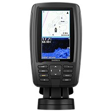 Garmin ECHOMAP Plus 44cv GPS Fishfinder/Chartplotter Combo with GT20 Transducer and BlueChart g2 Charts
