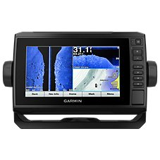 Garmin ECHOMAP Plus 73sv with GT52 Transducer Fish Finder/Chartplotter Combo