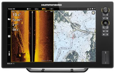 Humminbird SOLIX 15 CHIRP MEGA SI+ G2 Fish Finder/GPS Chartplotter