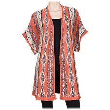 Natural Reflections Aztec Cardigan for Ladies