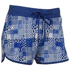 Natural Reflections Tribal Print Drawstring Shorts for Ladies