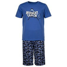 Bass Pro Shops Midnight Snack T-Shirt and Shorts Pajamas Set for Toddlers or Kids