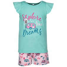 Bass Pro Shops Explore Your Dreams Shirt and Shorts Set for Toddlers or Kids
