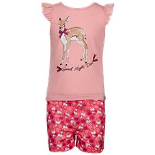 Bass Pro Shops Good Night Deer Shirt and Shorts Set for Toddlers or Kids