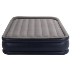 Intex Deluxe Pillow Rest Airbed with Built-In Pump