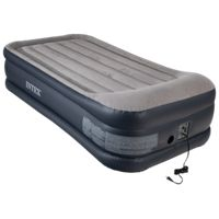 Intex Deluxe Pillow Rest Airbed with Built-In Pump - 39