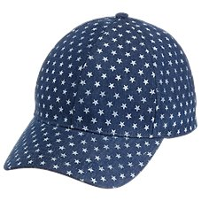 Quagga Denim Star Ball Cap for Ladies