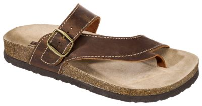 White For Ladies 6m Brown Mountain Leather Carly Sandals dCtxsrQh