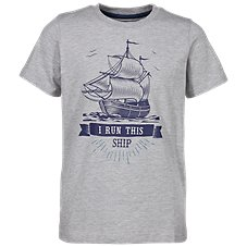 Bass Pro Shops I Run This Ship T-Shirt for Toddlers or Kids 410b9537d636