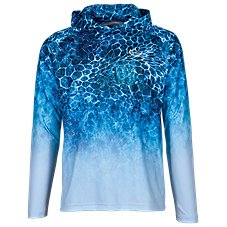 5081c13a440f World Wide Sportsman Sublimated Octocoral Hoodie for Men