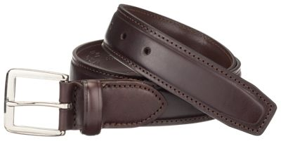 Croft /& Barrow Braided Big And Tall Reversible Belt Black//Brown Leather Trim