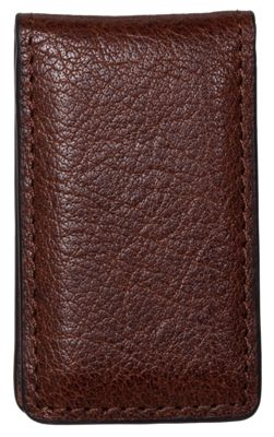 RedHead Buff Leather Magnetic Money Clip