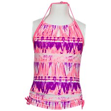 Free Country Signature Halter Tankini and Shorts Set for Girls