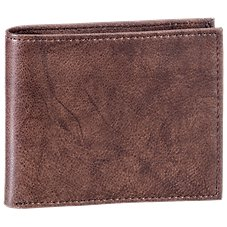 RedHead Crunch Leather Billfold Wallet