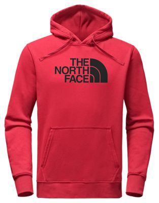The North Face Half Dome Pullover Long Sleeve Hoodie For Men Tnf Red/tnf Black M