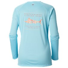 2bee148b Columbia Tidal Tee PFG Printed Fish Shirt for Ladies Image